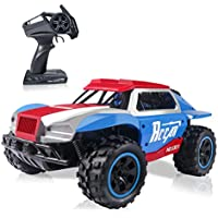 CharmUO 4 Wheel High Terrain Speed Off Rechargeable Batteries Remote Control Truck