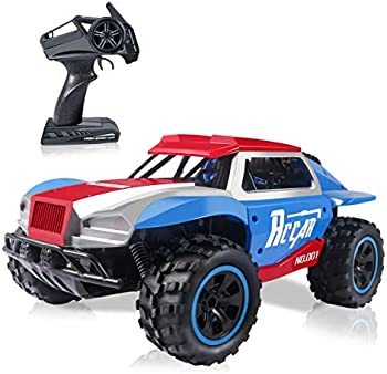 CharmUO 4 Wheel High Terrain Speed Off Rechargeable Remote Control Truck