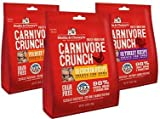Stella & Chewy's Carnivore Crunch Variety Pack of 3 – Beef, Chicken, and Turkey (3.25 oz Each) For Sale