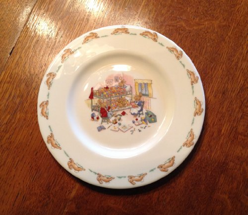 Royal Doulton Bunnykins Salad Plate, Factory Second, Bedtime Storytime