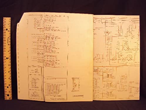 1977 77 ford ltd ii mercury cougar electrical wiring diagrams rh amazon com