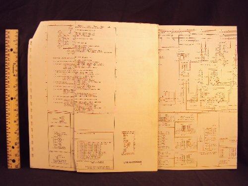 1977 77 FORD LTD II & MERCURY Cougar Electrical Wiring Diagrams Manual ~Original ()