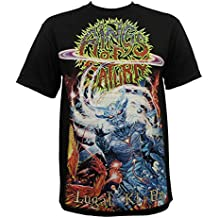 Indie Merch Rings of Saturn Band Lugal Ki En Album Cover Art T-Shirt S-2XL New