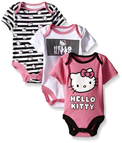 Hello Kitty Baby Girls' 3 Pack Bodysuits by Hello Kitty