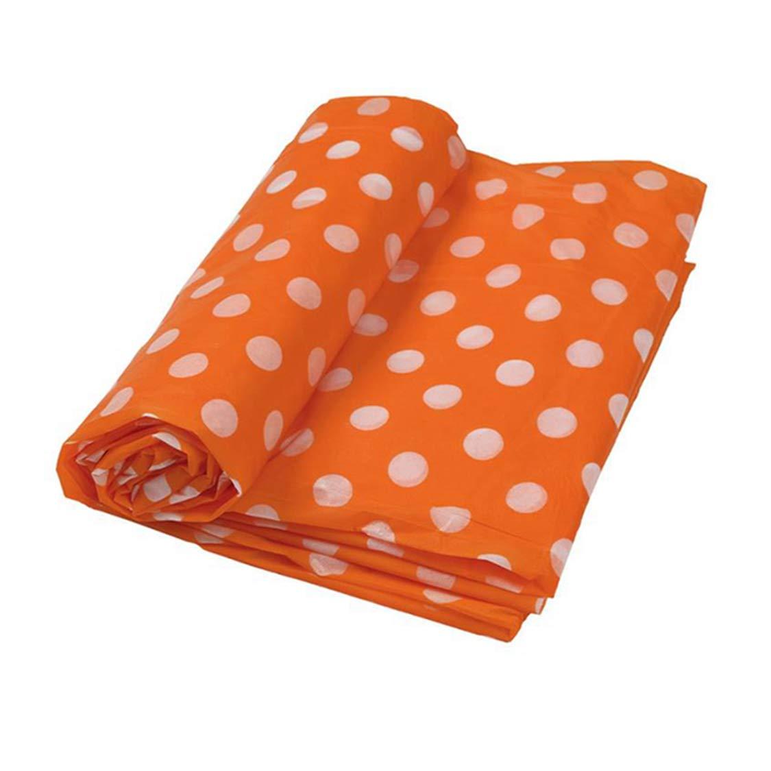 防水耐油性プラスチックテーブルナプキンカバー アウトドアパーティーテーブルウェア ナッペプラスチック製 オレンジ 0525  オレンジ B07H4KBCNV