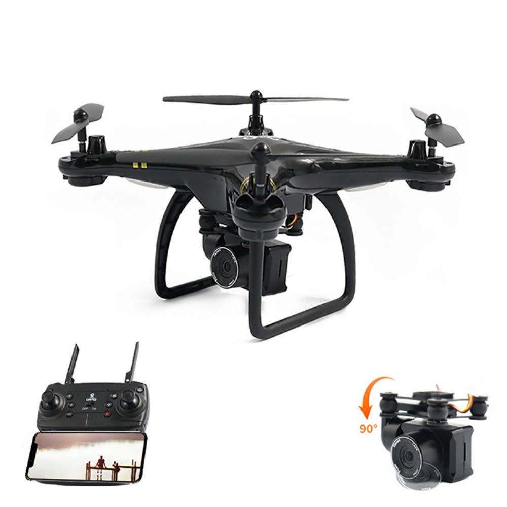 HUAXING RCドローン カメラ付きGPS カメラ付きクアッドコプター カメラHD WiFi FPV クアッドコプター 高度維持 長時間飛行ドローン B07QY5B5G7