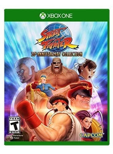 Street Fighter 30th Anniversary Collection - Xbox One Standard - Anniversary Collection