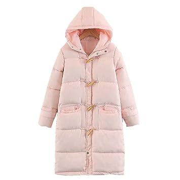 Abrigo caliente Abrigo acolchado de invierno para mujer ...