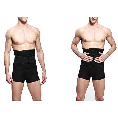Apoyo de la carpeta abdominal post-operatoria, post embarazo, y el ajuste de lesiones abdominales para hombres mujeres-ideal para el uso post-op, cepas, ...