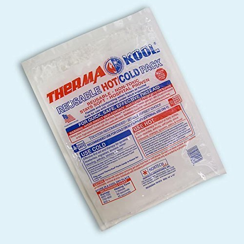 Therma-Kool Hot/Cold Pack (Clear) - Giant Pack, 10