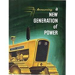 Print ad 1960 John Deere 1010 and 2010 Tractors Cr