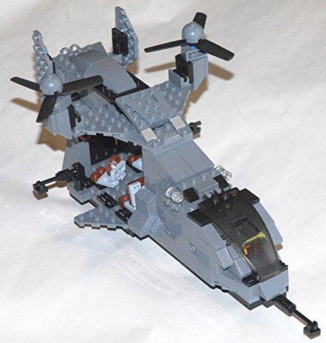 Custom Lego Halo Falcon UH-144 Helicopter Military (Halo Lego Falcon)