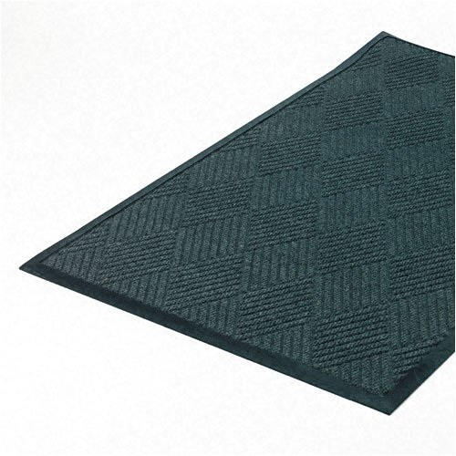 Crown : Super-Soaker Diamond Mat, Polypropylene, 34 x 58, Slate -:- Sold as 2 Packs of - 1 - / - Total of 2 Each ()