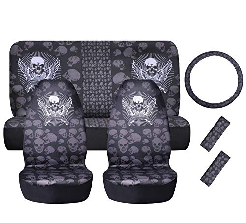 7 piece seat covers for cars - 3