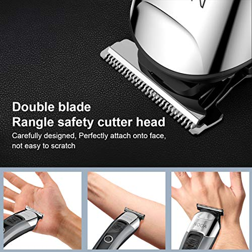 Mens Hair Clippers Beard Trimmer Nose Trimmer for Men Rechargeable Professional Cordless Clippers Detail Trimmer Haircut Hair Trimmer Kit