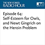 Episode 64: Self-Esteem for Owls, and Newt Gingrich on the Heroin Problem | David Remnick,Brian Quijada,Newt Gingrich,Patrick Kennedy,Vinson Cunningham,Elif Shafak,Patricia Marx