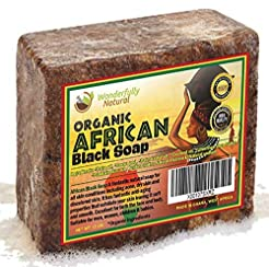 African Black Soap 1 Pound Bar | #1 Acne...