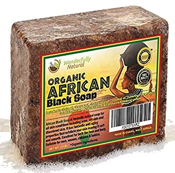 e3a628a87f07 Amazon.com   African Black Soap 1lb Bar