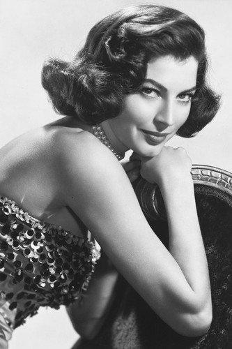 - Ava Gardner 24x36 Poster 1950's Glamour Portrait