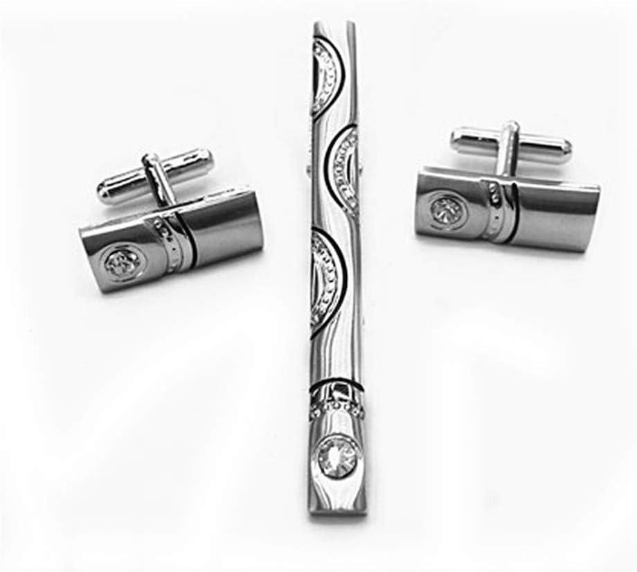 HONG-Accessories Juego de Sujetadores de Corbata con diseño de ...