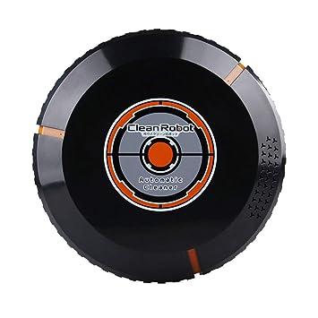Amazon.es: Mamun Aspirador Fuerte Recargable automático de Barrido Inteligente Limpia Robot Aspirador (Negro)