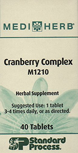 Cranberry Complex by Mediherb 40t by Standard Process