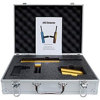 AKS Gold Detector Diamond Detecting Machine Metal Detector Machinery Depth 14 gold scanner hunter finder detector metal detector scanner underground metal ...