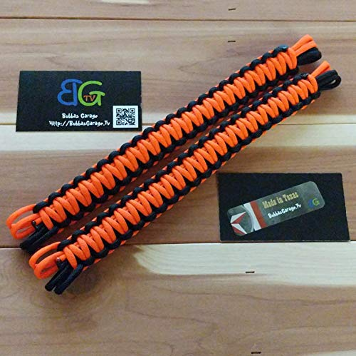 BubbasGarageTv - Customize your Universal Headrest Paracord Grab Handles (PAIR) - Pick Your Colors