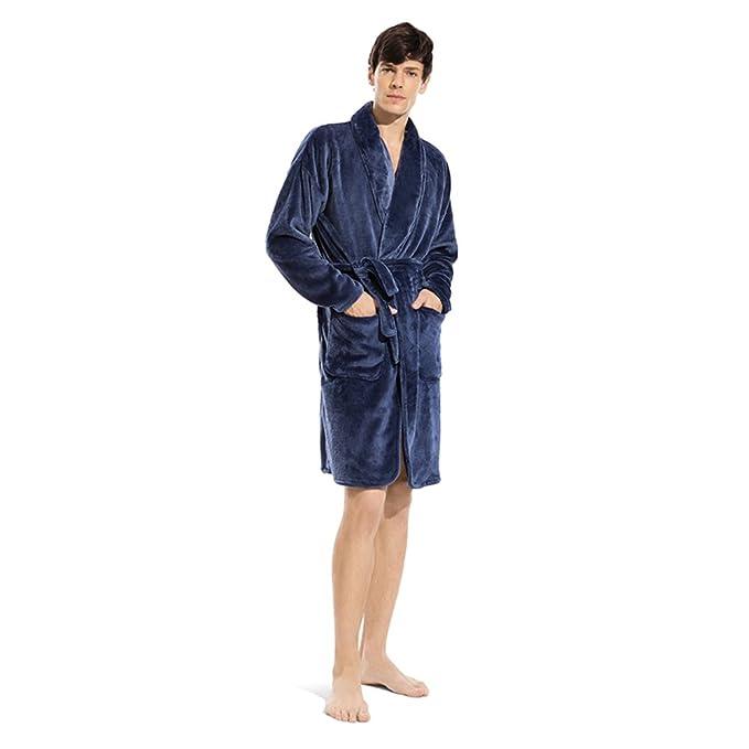Traje Largo Pijama de Franela de Las Mujeres [otoño e Invierno] Espesar Keep Warm