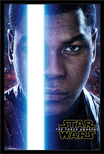 Trends International Star Wars the Force Awakens Finn Portrait, 22.375