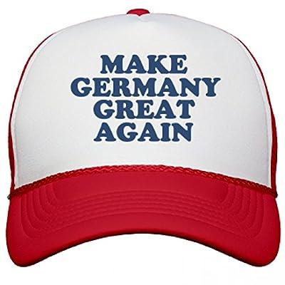Make Germany Great Again Hat: Snapback Mesh Trucker Hat