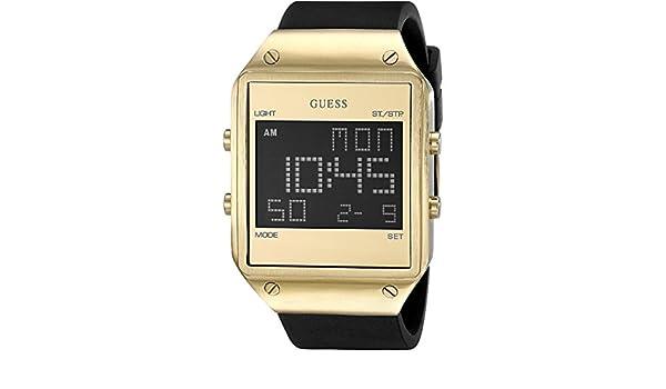 Guess Reloj Digital para Hombre de Cuarzo con Correa en Silicona W0595G3: Amazon.es: Relojes