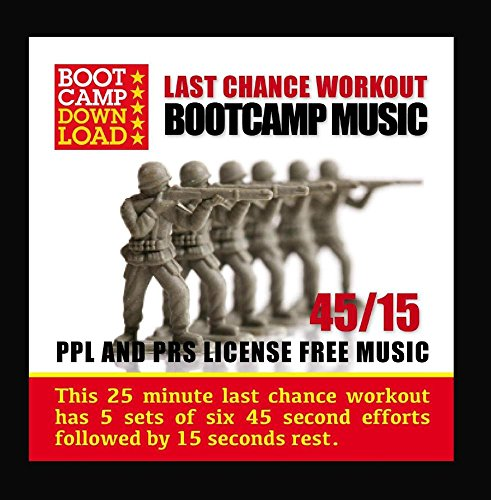 Price comparison product image 45 / 15 Hiit Last Chance Workout Circuit Training Bootcamp Music
