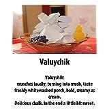 "Chalk natural,Edible chalk,Edible chalk,chunks Russian, Chalk Chalk ""Valuychik"" 200gr."