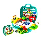 Organic product with cash register role play toy set