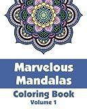 Marvelous Mandalas Coloring Book, Various, 1492767220