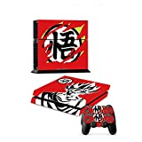 Anime Dragon Ball Skin Decal Sticker for PS4 PlayStation,Controller (E)