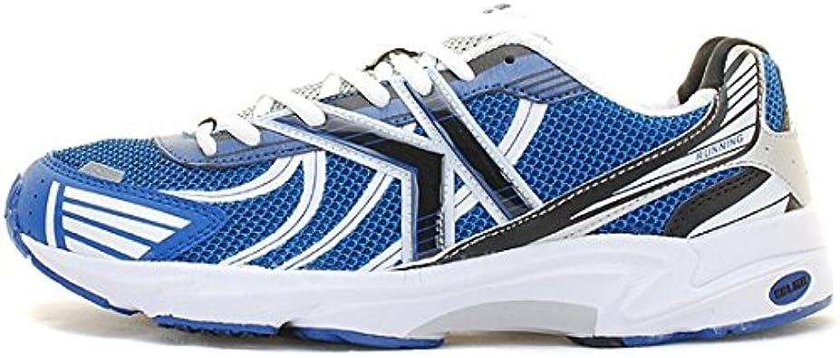 Kelme - Zapatillas de Running de Material Sintético para Hombre Blanco Blanco: Amazon.es: Zapatos y complementos
