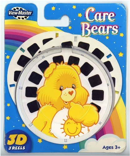 CARE BEARS ViewMaster 3 Reel Set by 3Dstereo ViewMaster