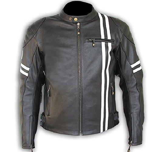 By AZ X-Man Piel CE ARMOUR Calidad de chaqueta de protectora ...