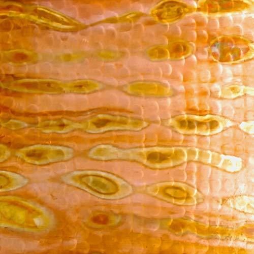 15 x 7 Round Copper Bar Sink in Fuego finish NAPA