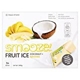 Smooze Banana Fruit Ice Lollies - 5 x 65ml (10.99fl oz)