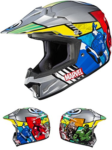 HJC CL-XY II Avengers Youth Helmet (MC-21, X-Large) XF-10-0865-2321-57