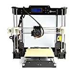MagicD High Performance A8 RepRap 3D Printer DIY Kit , Classic A8 RepRap 3D Printer , Desktop 3D Printer, Print PLA , ABS Filament , Easy To Assemble, Can upgrade to Auto level
