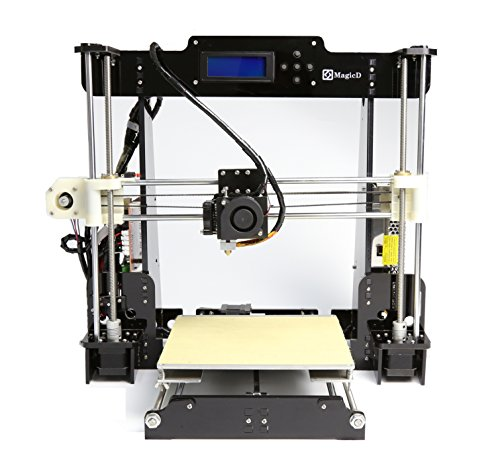 Promotion Price, MagicD Classic A8 RepRap 3D Printer Diy Kit High Performance A8 RepRap 3D Printer , Easy To Assemble , Desktop 3D Printer, Print PLA , ABS Filament 1.75mm