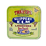 2Pack! Thayers Slippery Elm Lozenges Maple - 42 Lozenges - Case of 10