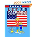 Lucky Cat's Patriotic Coloring Book