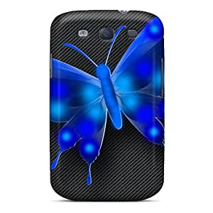 High-quality Durable Protection Case For Galaxy S3(vector Butterfly)