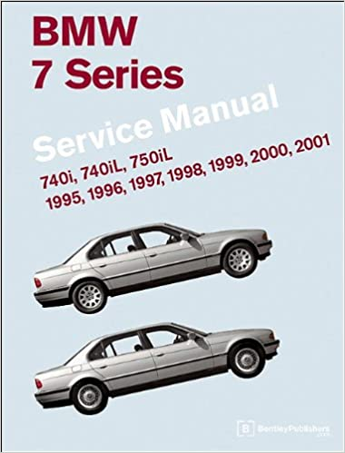 4 books plus case 1996 BMW 740iL 750iL manual