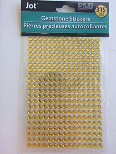 Gemstone Stickers (gold)